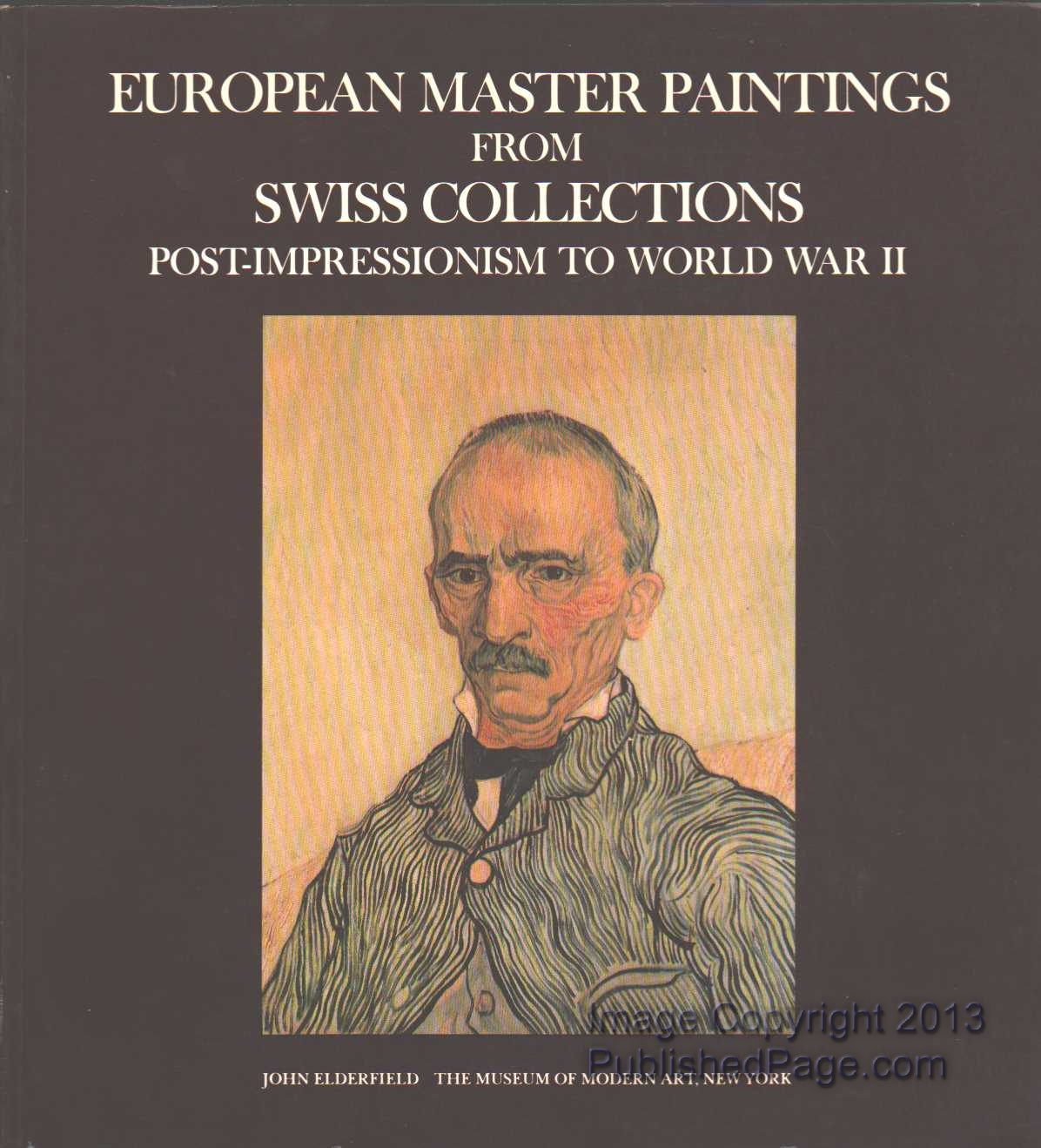 Image for European Master Paintings from Swiss Collections: Post-Impressionism to World War II